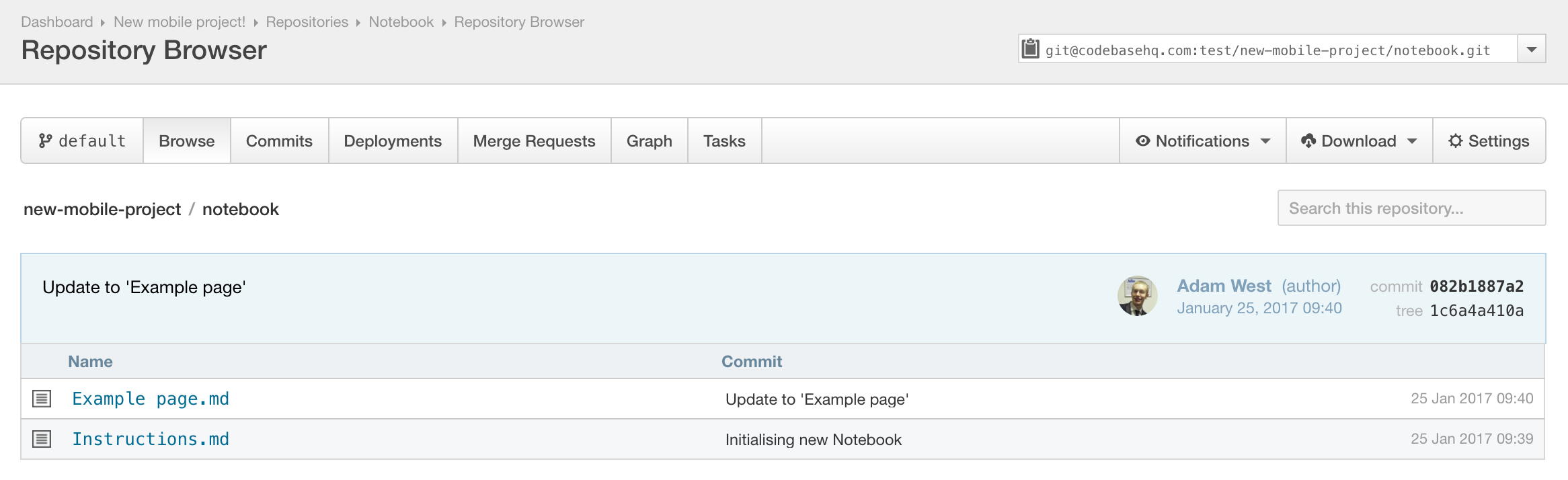 Editing The Notebook Locally Notebook Codebase